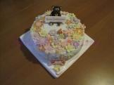 Torta Fiori e orsetto