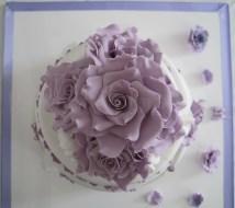 wedding cake lilla